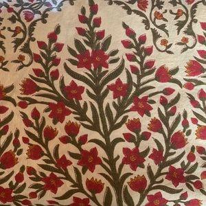 Pottery Barn Tablecloth.